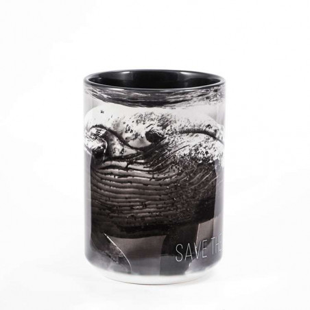 Save The Whales Ceramic Mug The Mountain