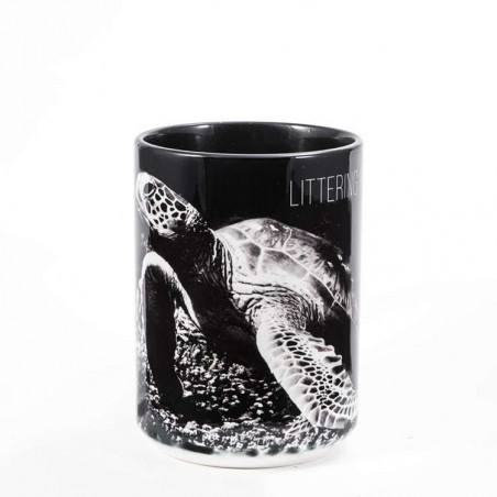Littering Kills Ceramic Mug The Mountain