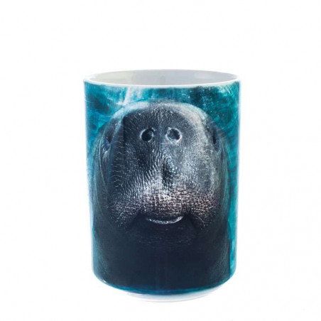 Big Face Manatee Ceramic Mug