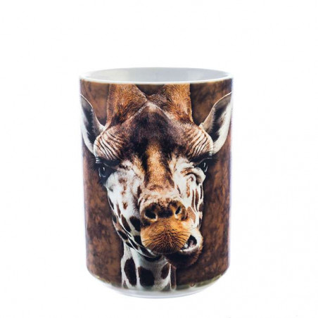 Giraffe Ceramic Mug The Mountain