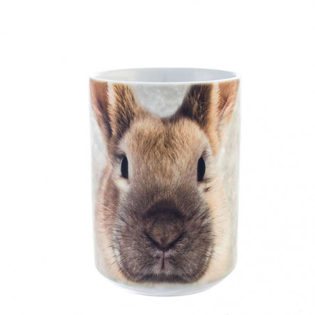 Bunny Face Ceramic Mug The Mountain