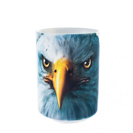 Eagle Face Ceramic Mug