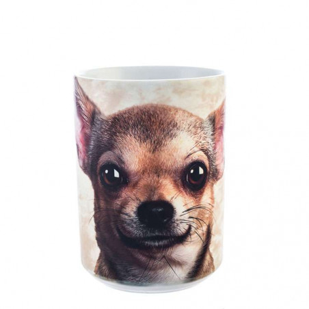 Chihuahua Face Ceramic Mug The Mountain