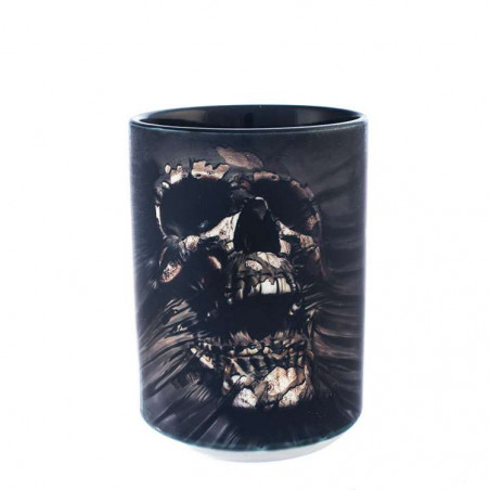 Breakthrough Skull Ceramic Mug The Mountain