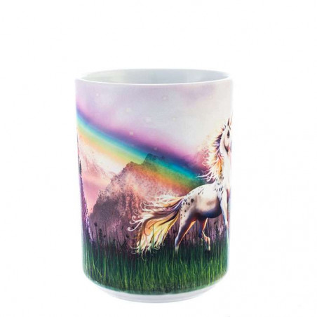 Unicorn Castle Ceramic Mug
