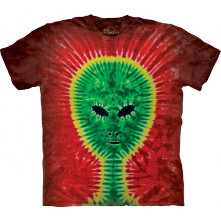 Tie-Dye Alien T-Shirt The Mountain
