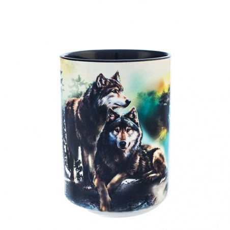 Wolf Lookout Ceramic Mug