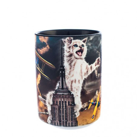 King Kitten Ceramic Mug The Mountain