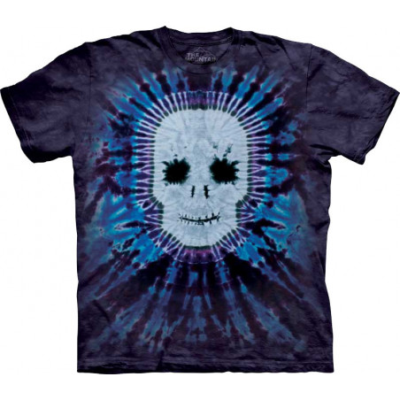 Tie Dye Skull T-Shirt The Mountain
