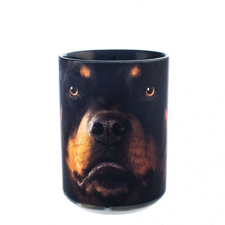 Rottweiler Face Ceramic Mug The Mountain
