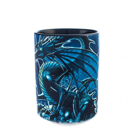 Skull Dragon Ceramic Mug The Mountain