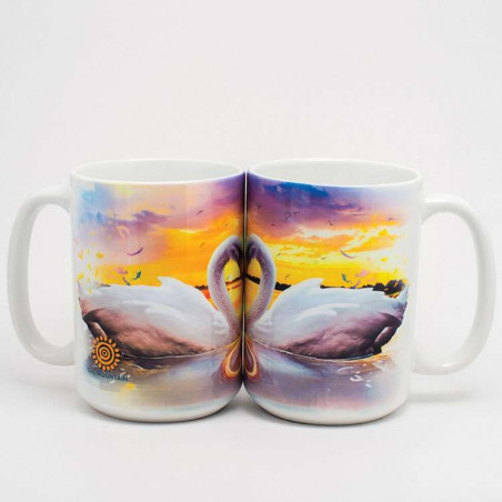 Swan Song Ceramic Mugs