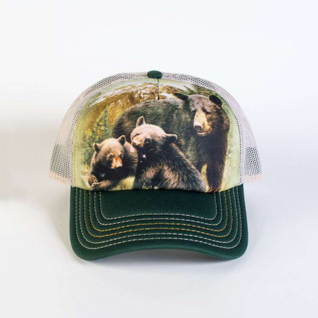 Black Bear Family Trucker Hat