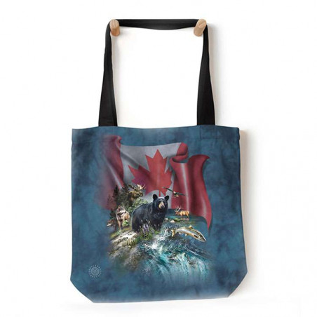 Canada The Beautiful Tote Bag The Mountain