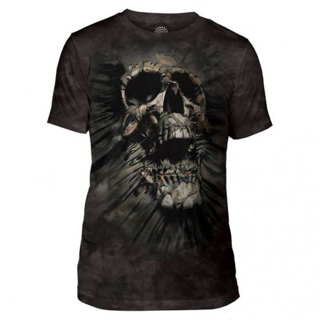 Breakthrough Skull Mens Tri-Blend T-Shirt