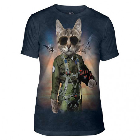 Tom Cat Mens Tri-Blend T-Shirt