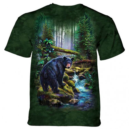 Black Bear Forest T-Shirt The Mountain
