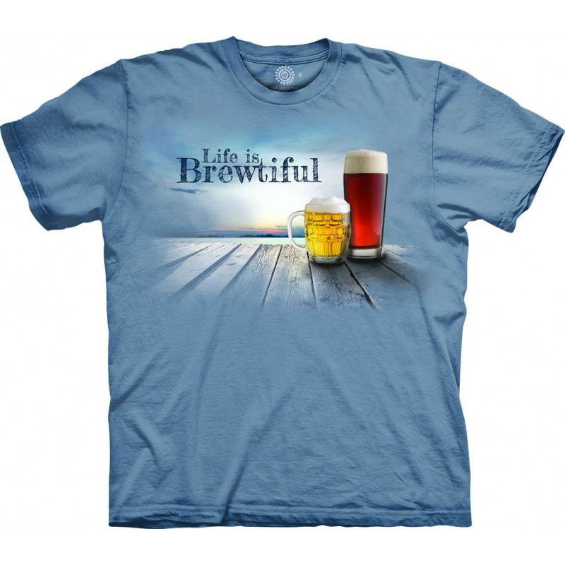 T-Shirt Life is Brewtiful The Mountain