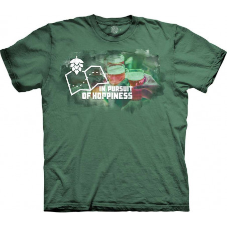 T-Shirt Pursuit of Hoppiness The Mountain