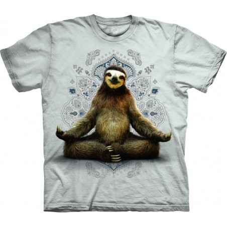 T-Shirt Vriksasana Sloth The Mountain