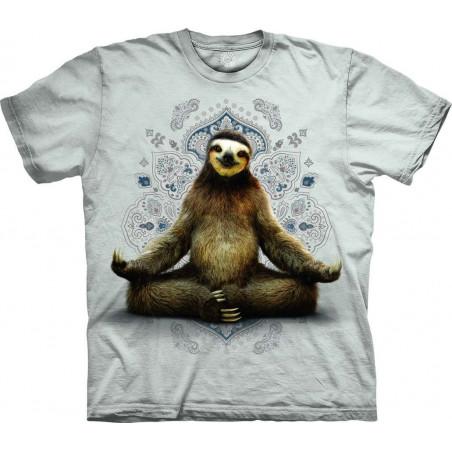 T-Shirt Vriksasana Sloth