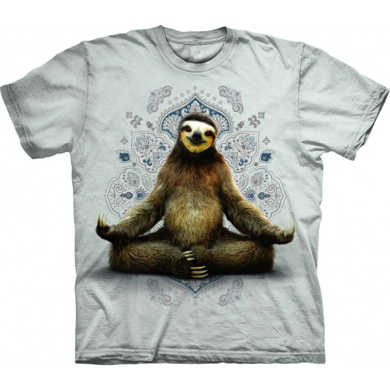 T-Shirt Vriksasana Sloth The Mountain