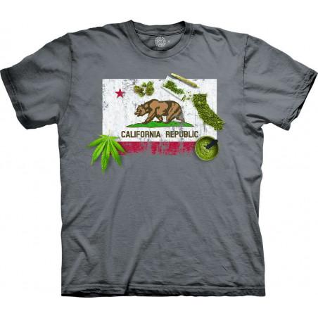 T-Shirt California The Mountain