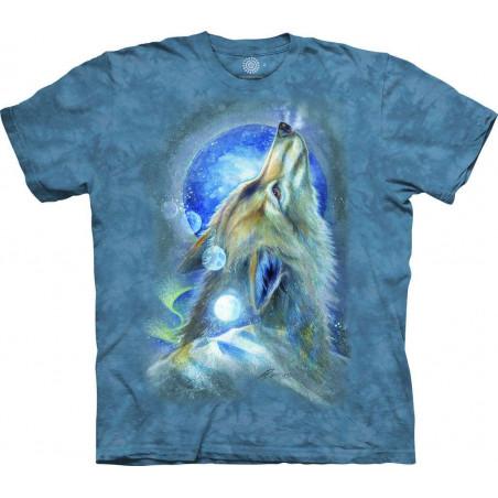 T-Shirt Wolf Howl