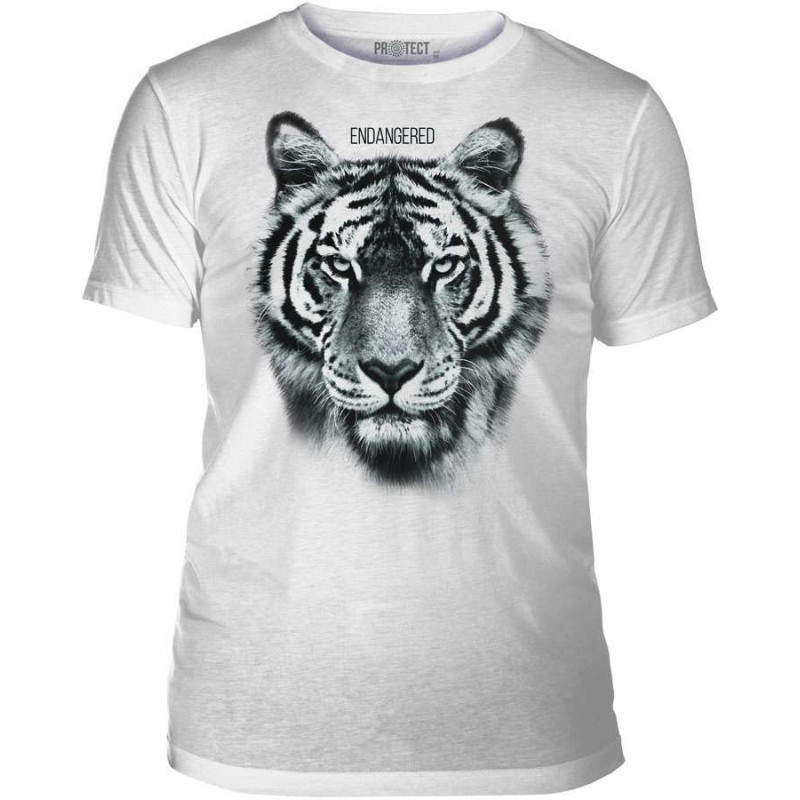Mens T-Shirt Tri-Blend Endangered The Mountain