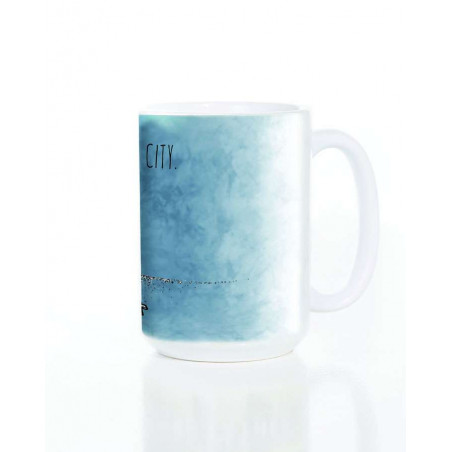 Ceramic Mug Bright Lights No City