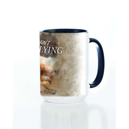 Ceramic Mug Flying