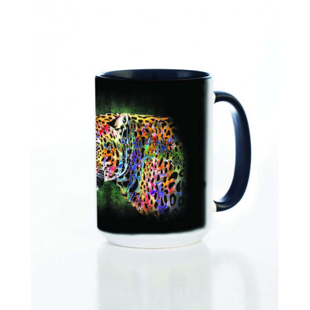 Ceramic Mug Painted Cheetah
