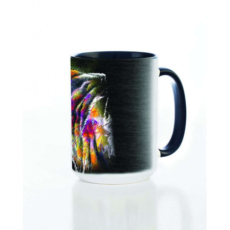 Ceramic Mug Painted Lion