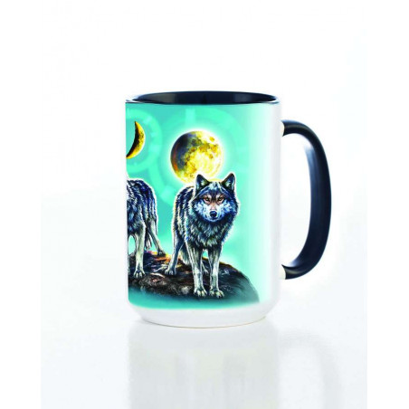 Ceramic Mug Northstar Wolves