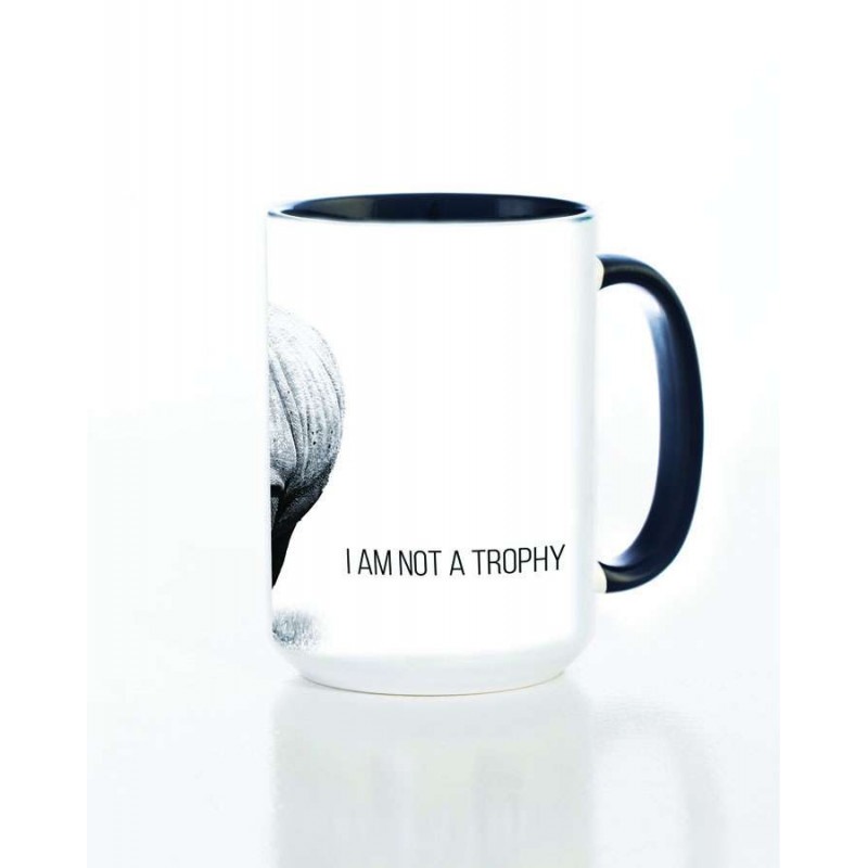 Ceramic Mug I Am Not A Trophy