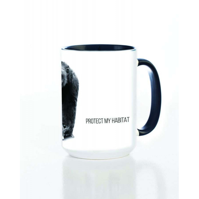 Ceramic Mug Protect My Habitat