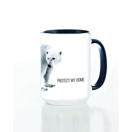 Ceramic Mug Polar Protect My Home