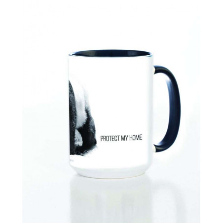 Ceramic Mug Protect My Home