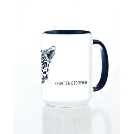 Ceramic Mug Leopard Extinction