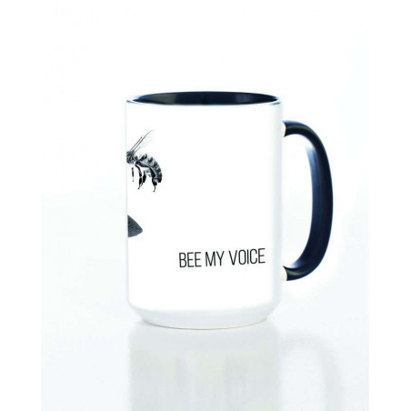 Ceramic Mug Clover Bee My Voice