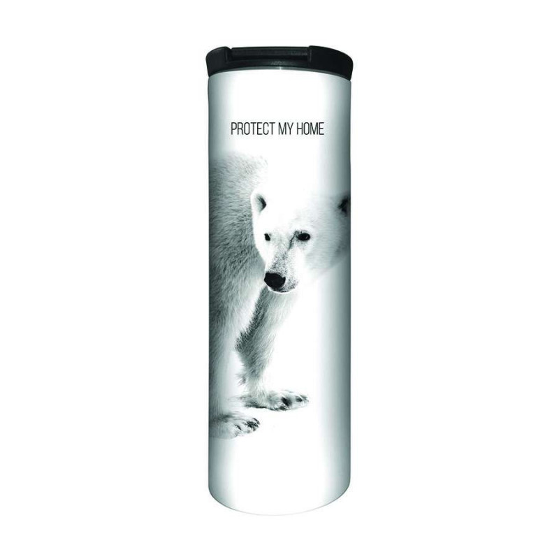 Travel Mug Polar Bear Protect My Home