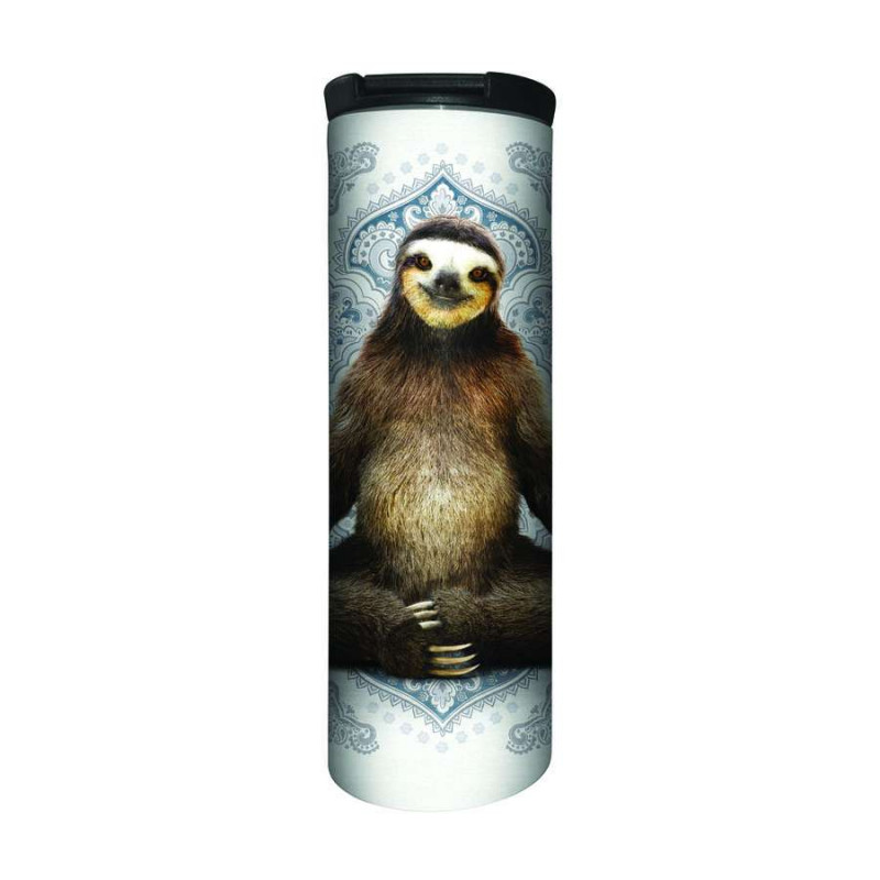 Travel Mug Vriksasana Sloth