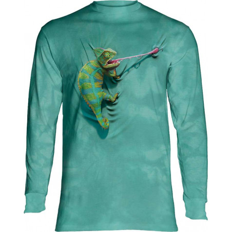 Climbing Chameleon Long Sleeve T-Shirt