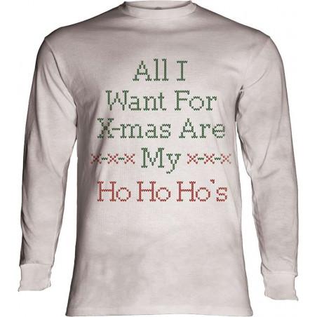 Ho Ho Ho's Long Sleeve T-Shirt