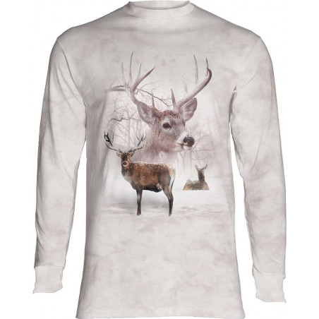 Wintertime Deer Long Sleeve T-Shirt