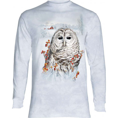 Country Owl Long Sleeve T-Shirt
