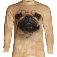 Pug Face Long Sleeve T-Shirt