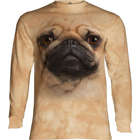 Pug Face Long Sleeve T-Shirt