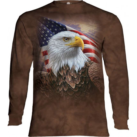 Independence Eagle Long Sleeve T-Shirt