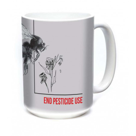 Ceramic Mug Pesticide Bumble Bee